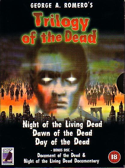 Trilogy Of The Dead Anchor Bay UK 4 DVD Set
