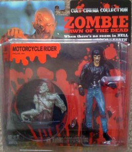 DAWN OF THE DEAD JAPANESE GAGA CULT CINEMA FIGURES
