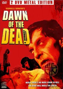 DAWN OF THE DEAD 2 DVD DISC SUNFILM ENTERTAINMENT METAL BOX