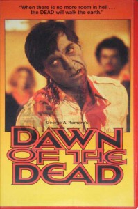 DAWN OF THE DEAD Australian Uncut VHS Whiteline Pictures