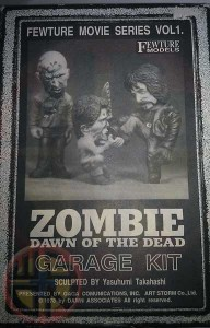 DAWN OF THE DEAD FEWTURE MOVIE SERIES VOL 1 GARAGE KIT