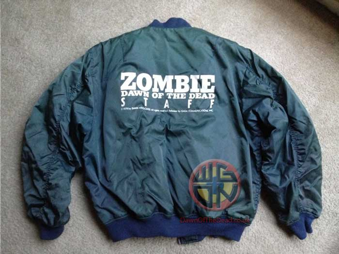 DAWN OF THE DEAD JAPANESE GAGA 1994 PROMOTIONAL STAFF JACKET