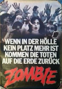 Dawn of the Dead German A0 Poster