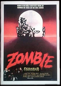 DAWN OF THE DEAD GERMAN PEGASUS FILM BOOKLET