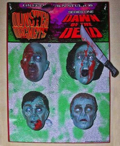 DAWN OF THE DEAD GRECIAN URN MONSTER MAGNETS