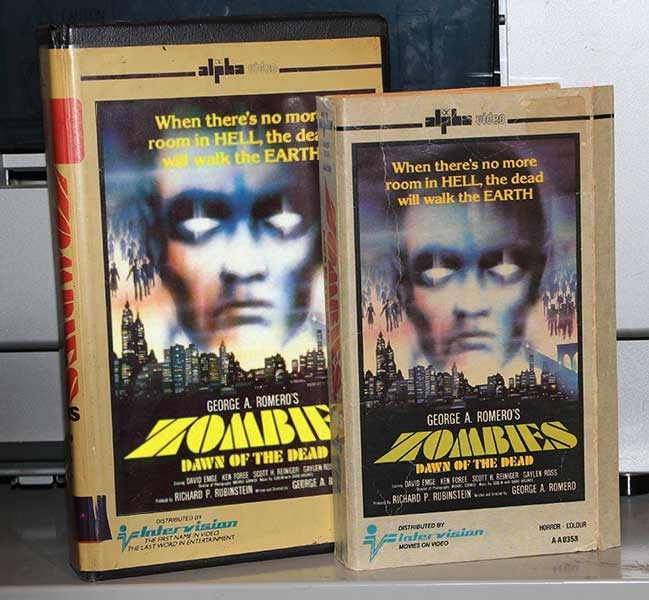 Zombies - Dawn of the Dead - Intervision VHS