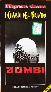 ZOMBI DAWN OF THE DEAD L'ESPRESSO CINEMA