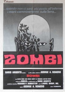 Zombi Dawn of the Dead Italian Poster