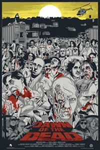 dawn of the dead jeff proctor mondo regular poster