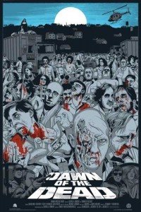 DAWN OF THE DEAD JEFF PROCTOR MONDO MOVIES VARIANT POSTER