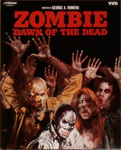 DAWN OF THE DEAD JAPANESE VHD 2 DISC SET