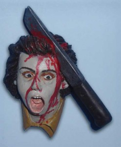 DAWN OF THE DEAD Machete Zombie Magnet