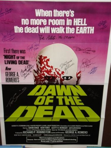 Dawn of the dead USA Green Logo One Sheet Poster