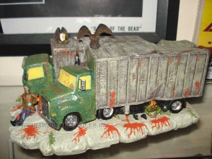 Dawn of the Dead Hawthorn Village Zombie Attack BP Trucks