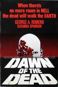 DAWN OF THE DEAD ST MARTINS PRESS 1ST ED BOOK