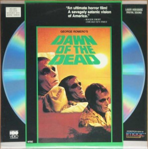 DAWN OF THE DEAD USA HBO IMAGE ENTERTAINMENT LASERDISC