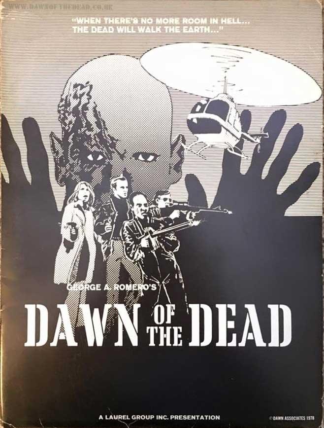 Dawn of the Dead USA Laurel Group inc Press Kit