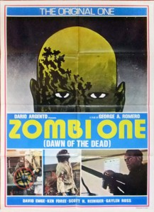 Dawn of the Dead Zombie One Lebanese Poster