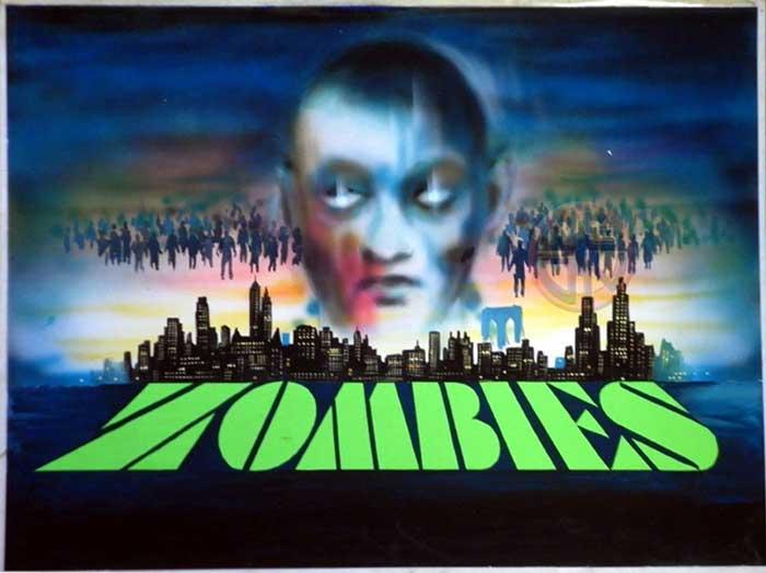 Zombies Dawn of the Dead Original Chantrell Art