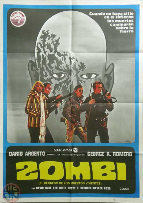 Dawn of the Dead Spanish One Sheet Poster