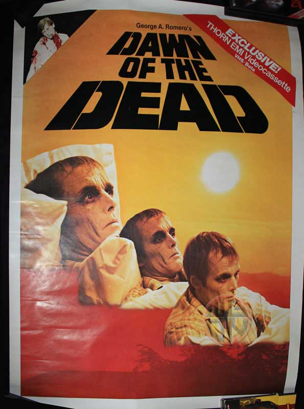 Dawn of the Dead Thorn EMI poster
