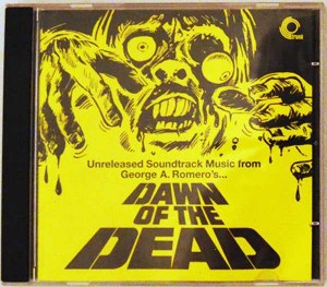 DAWN OF THE DEAD UK TRUNK RECORDS UNRELEASED OST MUSIC CD