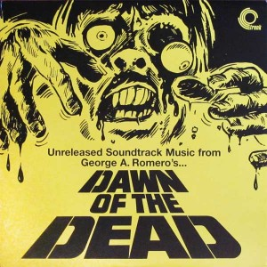 DAWN OF THE DEAD UK TRUNK RECORDS UNRELEASED OST MUSIC LP