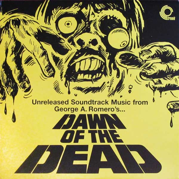 Dawn of the Dead Unreleased Soundtrack Trunk Vinyl LP fr