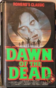 DAWN OF THE DEAD UK ENTERTAINMENT IN VIDEO VHS