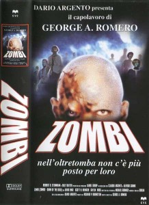 DAWN OF THE DEAD ITALIAN CVC VIDEO ZOMBI VHS