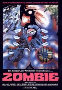 Zombi German Poster