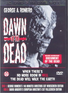 DAWN OF THE DEAD Dutch 2 Disc Special Edition DVD