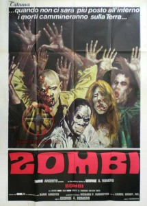 Dawn of the Dead Italian Titanus Poster A