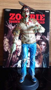 DAWN OF THE DEAD NIGHTMARE MODELS MACHETE ZOMBIE FIGURE