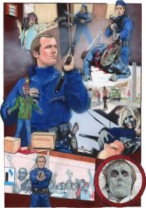 DAWN OF THE DEAD Peter Johnson Hero Art Roger