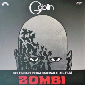 DAWN OF THE DEAD Italian Cinevox Goblin Zombi OST LP AMS LP31