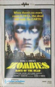 ZOMBIES DAWN OF THE DEAD UK INTERVISION PRE CERT CLAMSHELL BOX
