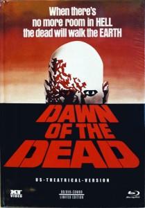 Dawn of the Dead Mediabook NSM XT VIDEO US Theatrical Cut COVER A