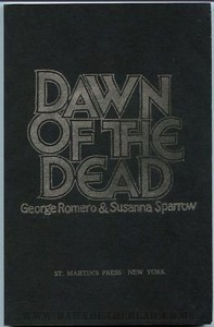 Dawn of the Dead Book Uncorrected Proof St Martins Press
