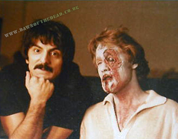 Dawn of the dead Behind the scenes Tom Savini