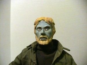 Dawn of the Dead Custom Made Helicopter Zombie Figure