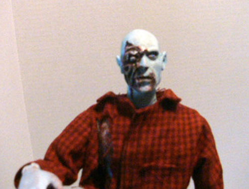 Dawn of the dead custom Airport zombie figure