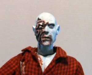 Dawn of the dead Custom Made Airport Zombie Figure
