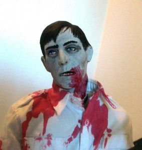 Dawn of the Dead Custom Made Flyboy Zombie Figure