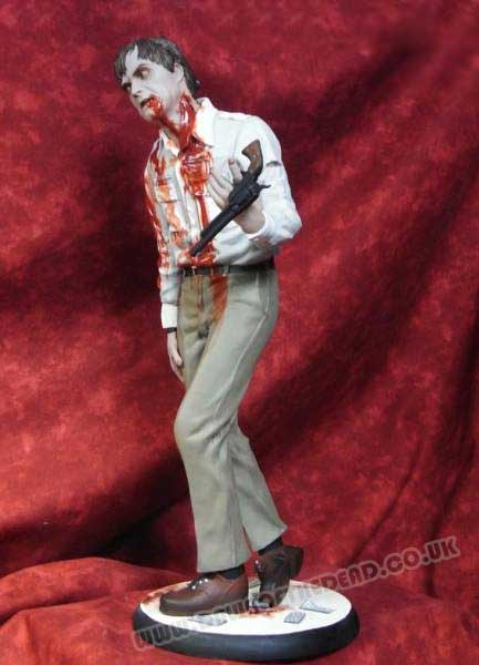 Dawn of the Dead Hellpainter 12 inch Flyboy Zombie figure