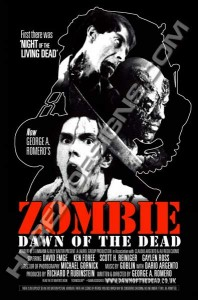 DAWN OF THE DEAD – HI-REZ DESIGNS – BOOTLEG POSTER – V4 ONE SHEET