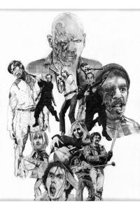 Dawn of the Dead Peter Johnson Artwork 2016