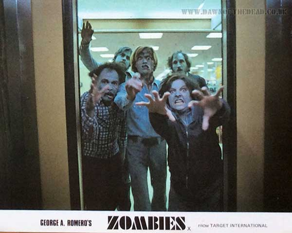 Zombies - Dawn of the Dead British Lobby Cards