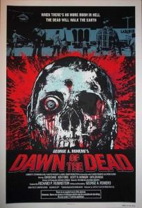 Dawn Of The Dead Print James Rheem Davis Private Commission Poster