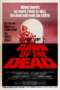 Dawn of the dead cINEMA 5 16mm US one sheet poster